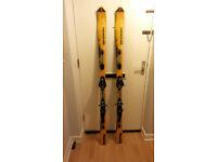 Salomon Xscream DR130 Carving Skis, 169 cm Length with Salomon 900 Bindings