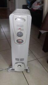 Delongi 1500k 2k oil filled radiator