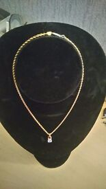 """Beverly Hills Gold Necklace """" Sorry this Item Is """"Sold"""""""