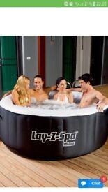 Hot tub lazy spa brand new in sealed box