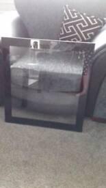 black glass door for ikea besta unit