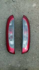 Vauxhall corsa c rear lights