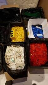 massive job lot of Lego