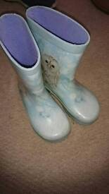 Toddler size 8 welly boots