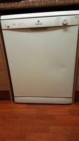 WHITE DISHWASHER HOOVER FULL SIZE 60CM AAA RATING