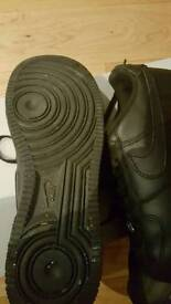 Nike air force 1 worn several times size 5 good condition