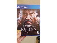 Lords of the Fallen PS4 game Excellent condition