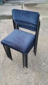 5 X FUNCTION / BANQUET / CATERING CHAIRS STACKABLE