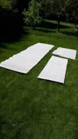 John Lewis deluxe polypropylene 68oz carpet remnants colour paper moon (beige cream)