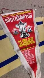 Southampton fc memoribilia