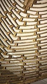 Large rattan/palm leaf