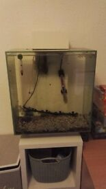 Fluval edge 46L white fish tank with built in pump