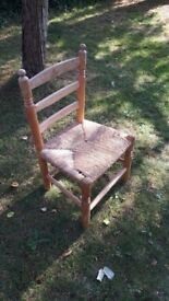 Child's vintage nursery chair
