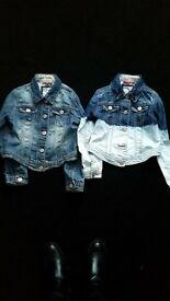 Next girls denim jacket age 7
