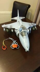 HM Armed Forces (like Action Man) Fighter Jet Plane