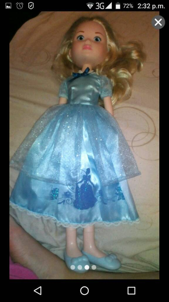 "22"" inch disney princess cinderella doll"