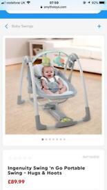 Baby swing BRAND NEW