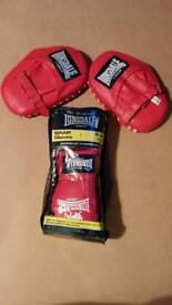 Lonsdale Sparring Gloves and Pads