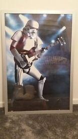 Stormtrooper poster including poster frame £10