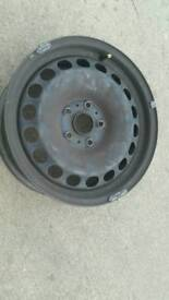 Ford galaxy vw etc Set of 4 16 in steel spare wheels