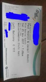 Paul Heaton and Jacqui Abbot Ticket