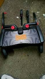 Lascal maxi buggy board with adapters suitable for all pushchairs