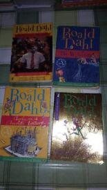 4 ROALD DAHL BOOKS