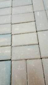 Marshalls block paving burnt ochre