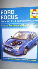 Ford Focus Mk1 1998-2001 Haynes MANUAL
