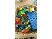 Big box of lego duplo
