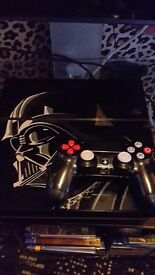 Limited edition darth vader star wars edition ps4 consol