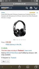 Brand new Bluetooth wireless headphones new in box
