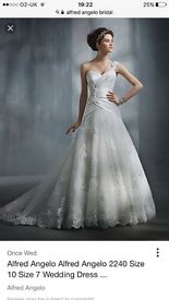 Alfred Angelo wedding dress size 20