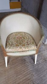 Bedroom patterned chair