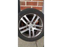 """VW alloy wheel 16"""" 6.5J x 16."""