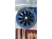 "2x18"" VW Alloys For Sale"