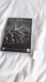 Halo Nightfall DVD