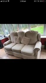 3 seater sofa - cream