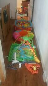 BARGAIN Baby activity items