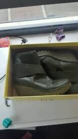 fly london ladies ankle boots size 5