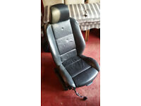 BMW X5 Black Leather Seat for (E53 Model)