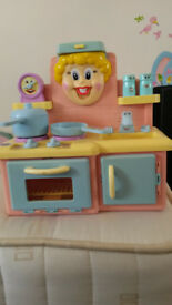 Children's talking kitchen
