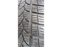 Pair of Riken winter tyres size 195/55/16