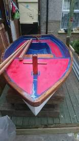 For sale a lovely 3 metre sailing boat no trailer