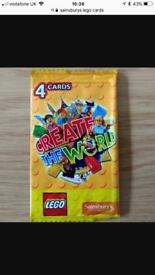 Box of Lego cards