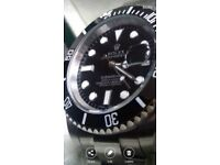 Choice of ⭐Submariner Rolex🌟with glidelock strap