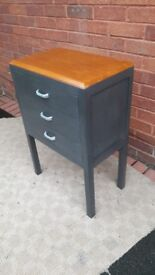 Vintage style wooden cabinet