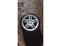 Genuine Mercedes AMG Alloys 18 Inch (1 Back, 2 Front)