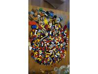1.7 kg of Lego bricks