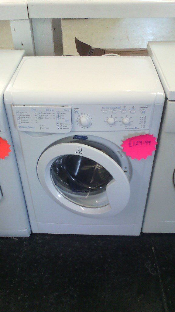 Reconditioned Indesit Slim Depth Washing Machine @ Bodmin Appliance Repairs